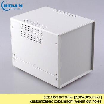 Пользовательские Железный корпус металлический проект коробка Diy электронная коробка для распределительной коробки профили поставщиков ч...