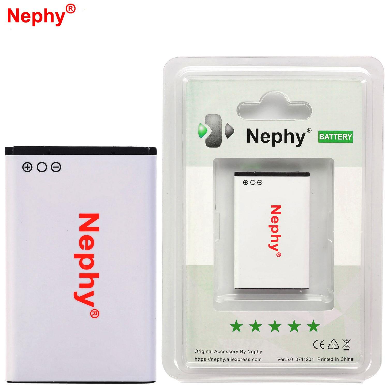2017 Original Nephy Phone Battery BL-5C For Nokia 3125 3208c 5030 5130 6030 6108 6130 6225 6230 6263 6267 6268 6270 6600 1020mAh
