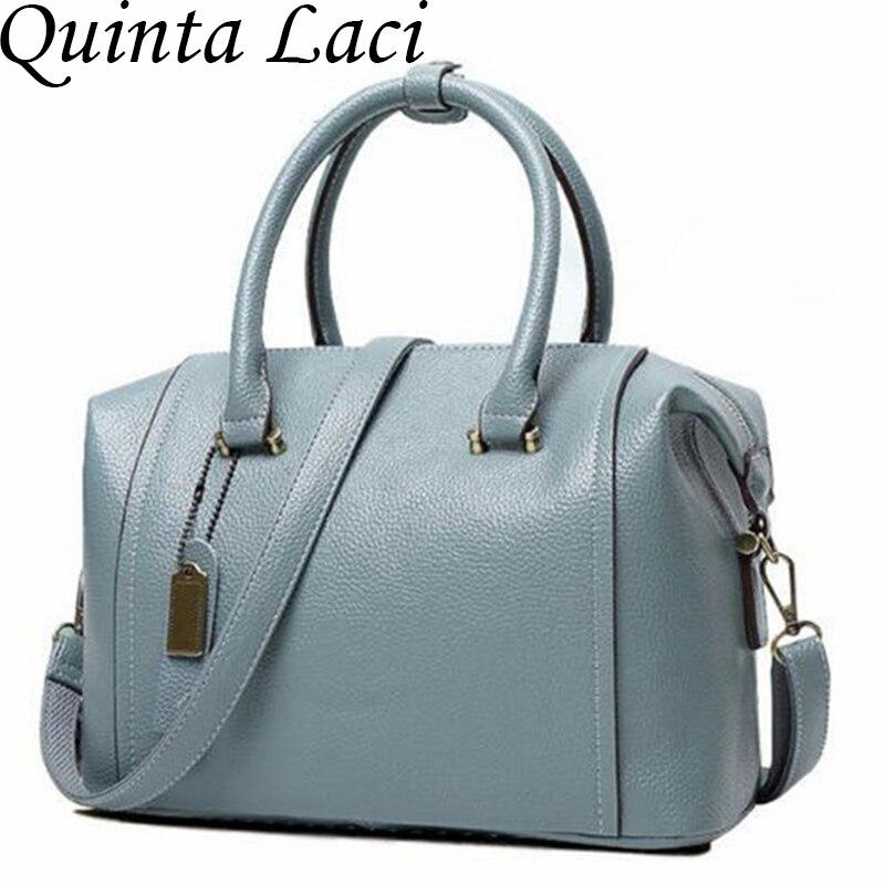 Quinta Laci font b women b font genuine leather font b bag b font font b