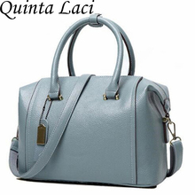 Quinta Laci genuino de las mujeres de cuero bolsa de mensajero de Las Mujeres bolsas de asas de bolsos de las mujeres famosas marcas de alta calidad bolso de hombro de las señoras