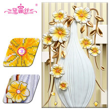 hot deal buy dainasi diamond embroidery diamond painting 3d diy special shaped diamond mosaic embroidery paste cross stitch arts and crafts