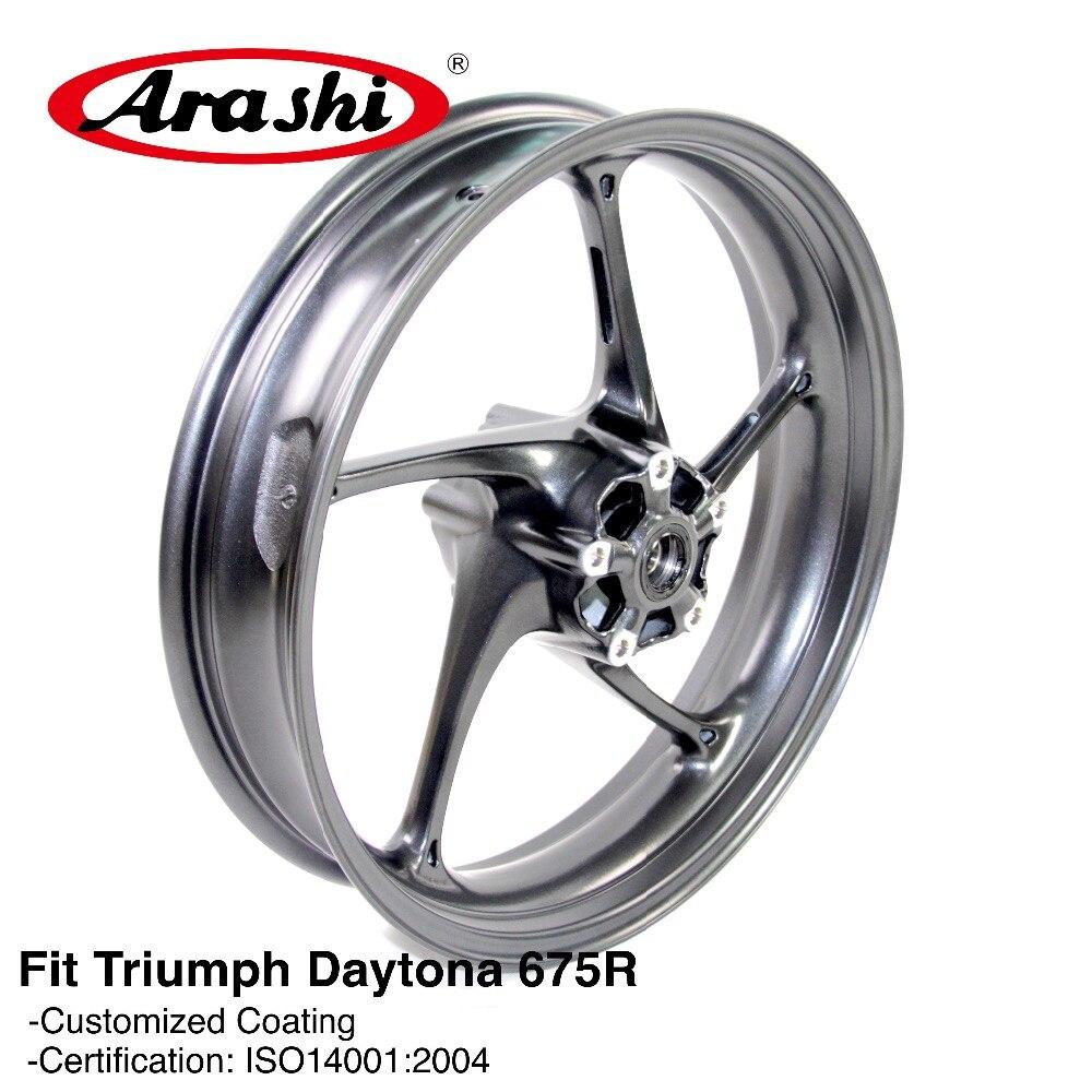 Arashi New Arrival Front Wheel Rim For TRIUMPH Daytona 675R 675 R 2013 2014 2015 Motorcycle