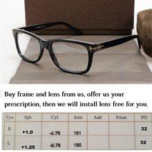 1562215a07 Cubojue Acetate Glasses Men Women Brand Prescription Spectacles Optical  customize 1.56 1.61 1.67 Index