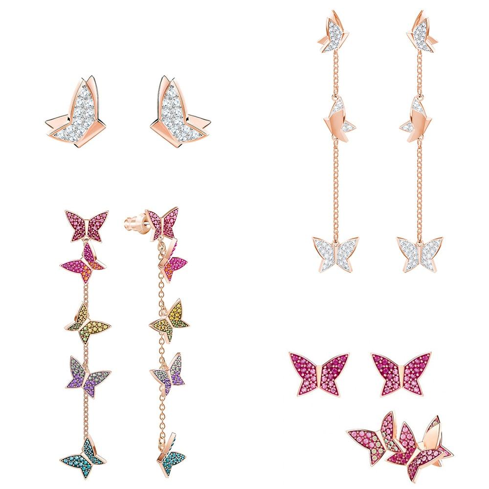 Hoop Pierced Avant-Garde-Look Lilia Rose Brings Golden And Swa Long-Toy Romantic Kaliyah