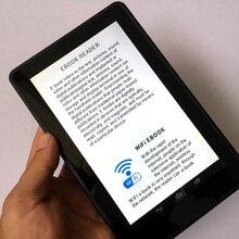 7 дюймов HD Цвет сенсорный Экран Беспроводной Wi-Fi для приставки Android smart цифровой плеер для чтения электронных книг ПК многофункциональное устройство 4000 мА/ч, литий-Батарея