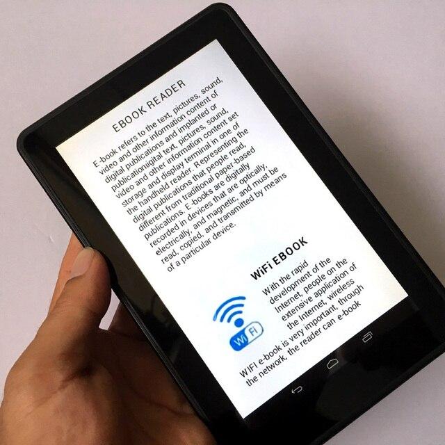 7 بوصة HD لون شاشة تعمل باللمس اللاسلكية واي فاي أندرويد الذكية مشغل رقمي قارئ الكتب الإلكترونية جهاز كمبيوتر متعدد الوظائف 4000MAH بطارية ليثيوم