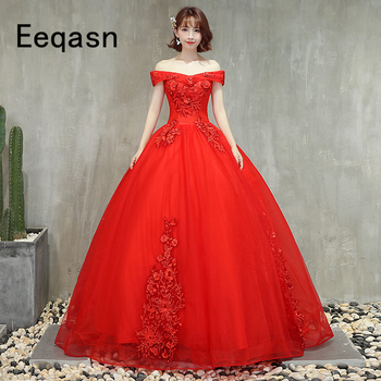 Red Quinceanera Dresses 2020 Sweetheart Lace Applique Sweet 16 Dresses Ball Dress Prom Party Dress Vestidos De 15 Anos