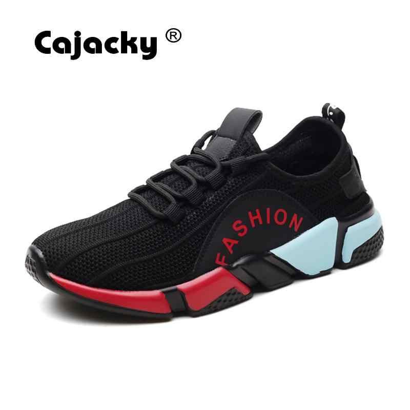 Cajacky Мужской Кроссовки лёгкие кроссы супер Обувь с дышащей сеткой Мужская  обувь Летняя повседневная обувь Для 6057f75bed5