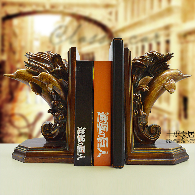 Fashion vintage bookend classical bookend brief elegant book end decoration fashion antique bookend papeleria sujetalibros fashion vintage fashion home decoration soft decoration crafts decoration bookend book end