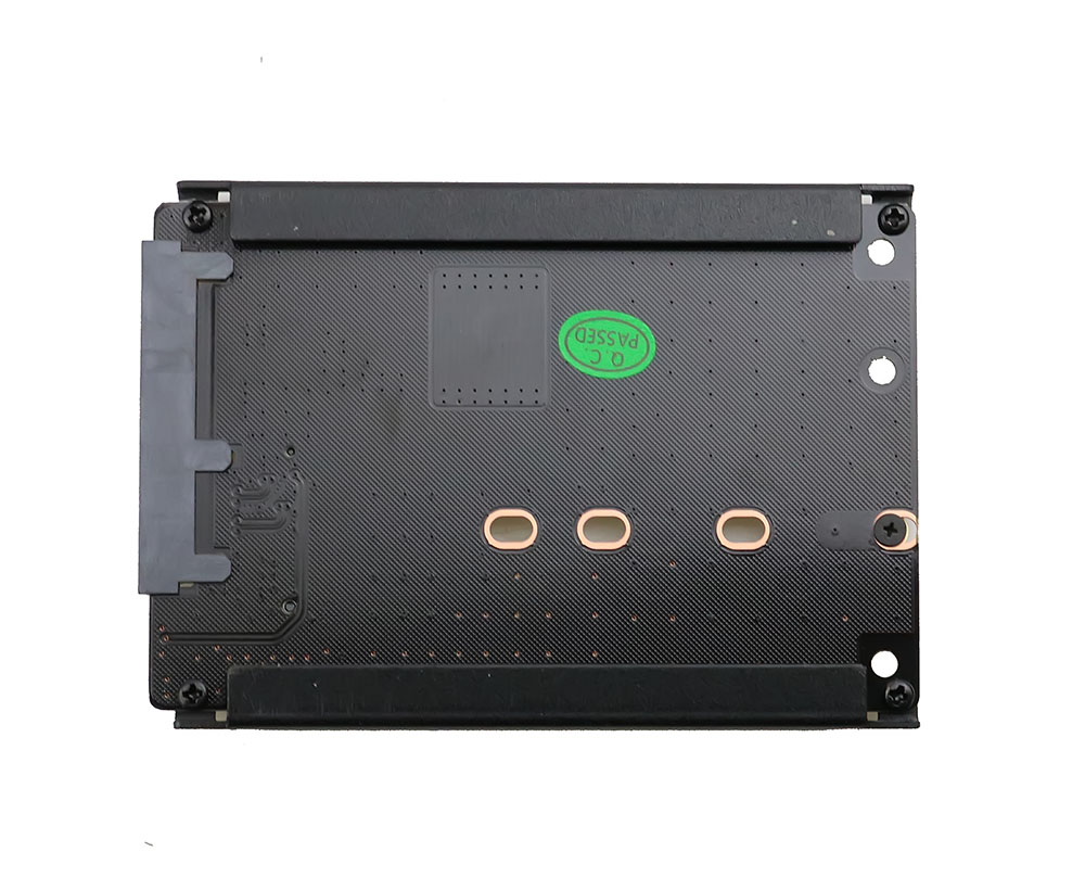 Metal Case B+M Key M.2 NGFF SSD To 2.5 SATA 6Gb/s Adapter Card With Enclosure Socket M2 NGFF Adapter With 5 Screw Pakistan