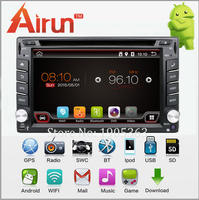 2014 In Dash Universal 2 Din Android 4 2 Car DVD Player GPS Wifi Bluetooth Radio