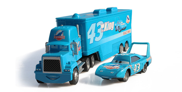 disney pixar cars2 nouvelle marque n 43 mack camion petite voiture le roi moul sous. Black Bedroom Furniture Sets. Home Design Ideas
