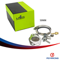 """PQY -50mm 2 inch Wholesale New design EGR Valve Replacement Pipe For 1.9 8v TDI PD130/PD150 EGR Delete/Race Pipe 2.25"""" PQY-EGR01"""
