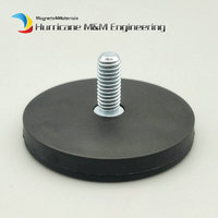 Magnetic Disc Dia 22 43 66 88mm LED Light Holding Male Thread Spotlight Holder NdFeB Magnet