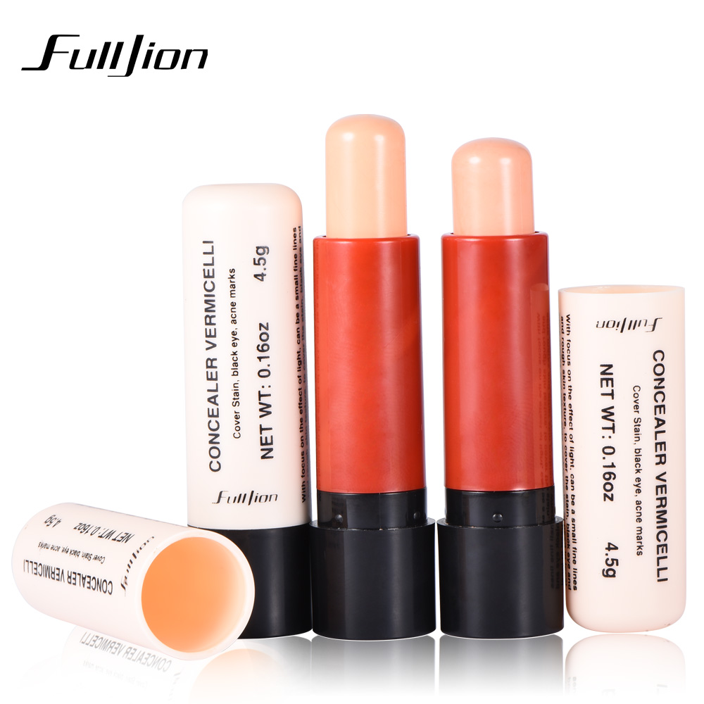 Fulljion 1Pcs Bronzer Highlighter Stick Face Makeup Concealer Pen Shadow Long Lasting Foundation Stick Cream Contour Pencil image