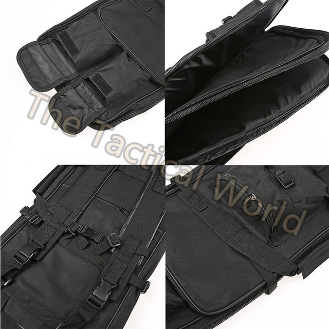 Airsoft 85 100 120cm Gun Bag Case Rifle Backpack Military Hunting Dual Rifle Bag case Square Carry Bags Outdoor Gun Accessories 5