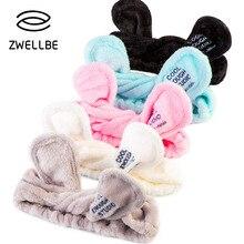 אלסטי אוזני ארנב מטפחת ריס הארכת רך פנים כביסה בגימור שיער להקת מחזיק אמבט ספא יפה איפור אבזרים