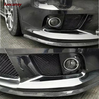 Car Front Bumper Protector Rubber Strip for Volkswagen VW Polo Passat B5 B6 CC GOLF 4 5 6 Touran Bora Tiguan Peugeot 307 206 308