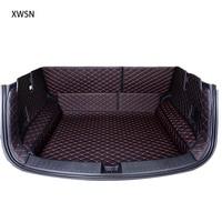 Fully enclosed trunk mat for toyota rav4 camry toyota corolla auris prius fortuner yaris land cruiser Car accessories car mats