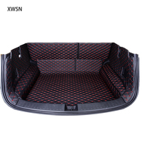 Fully enclosed trunk mat for toyota rav4 camry toyota corolla auris prius fortuner yaris land cruiser Car accessories car mats