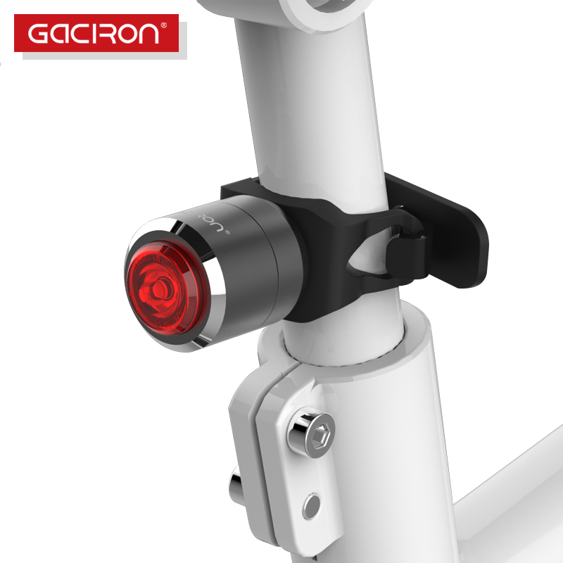 Gaciron Bike Bicycle Waterproof Riding Rear Taillight Mini Led Usb Rechargeable Mountain Cycling Tail Lamp Smart