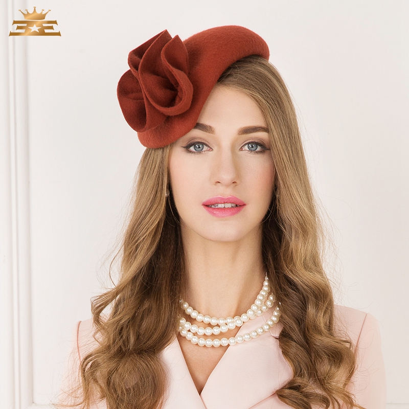 New Arrival Wool Fedoras Hat Autumn and Winter British Female Leisure Fashion Hat All match Wool