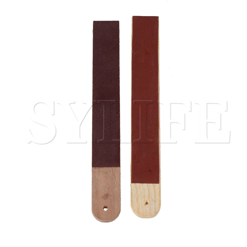 2x Tuning Hammer Piano Wooden File Clip Stick Pad Sandpaper Maintenance Tool
