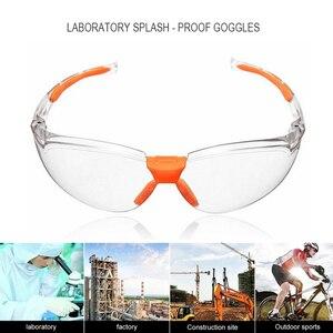 Image 4 - NEW Safety Glasses Transparent Dust Proof Glasses Working Glasses Lab Dental Eyewear Splash Protective Anti wind Glasses Goggles