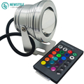 10W RGB Led Underwater Light DC12V IP67 Waterproof Aquarium Swimming Pool Spotlight Aluminum Car Lighting Fish Tank Piscina