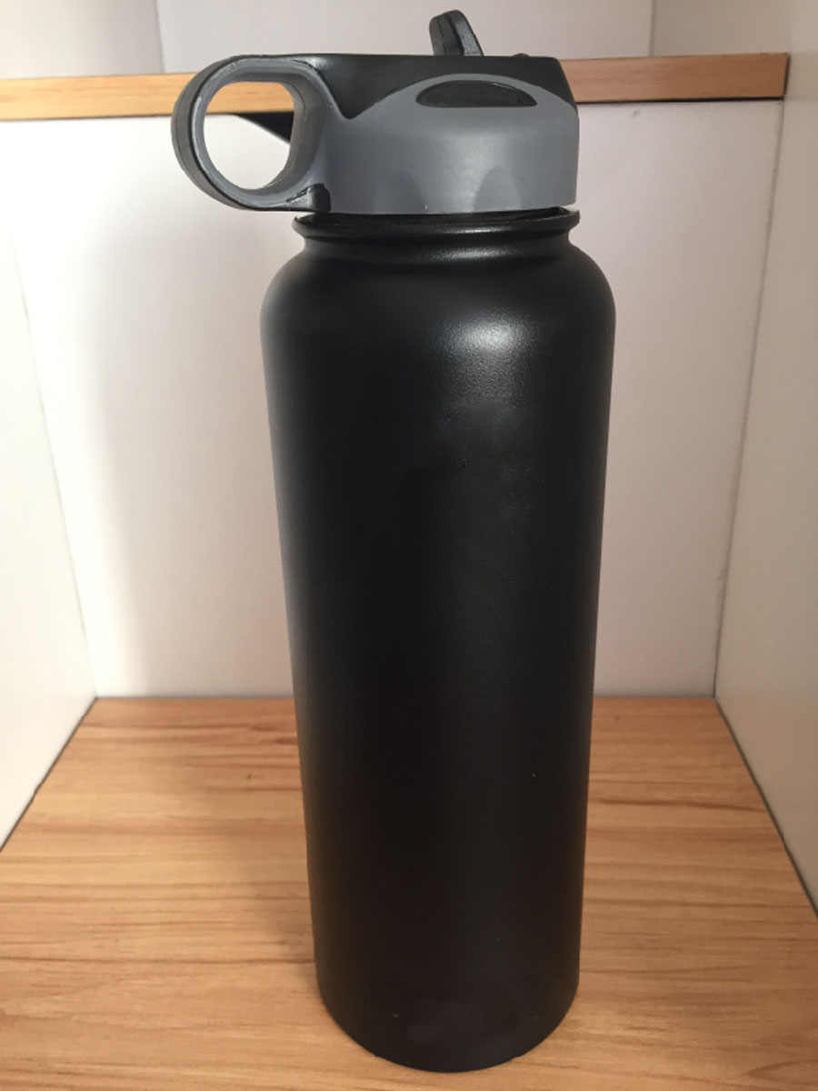 Nowy izolowany wody ze stali nierdzewnej butelka z szerokim otworem kubek kubek podróży kawy chłodnicy z pokrywka z rurką 18/32/40 uncji z logo