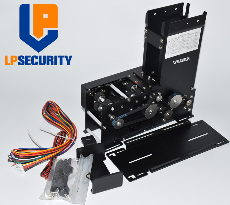 LPSECURITY Automatic RFID Card Ticket Vending Issuing Machine Cards Back Fucnction For Intelligent Parking System Road Barrier