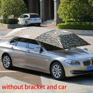 Image 5 - Parasol extérieur parapluie isolation coupe vent boutons bâche de voiture Mobile pique nique Auto Oxford tissu imperméable pliable anti poussière