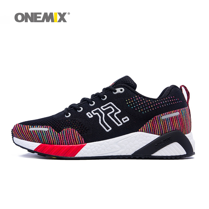 ONEMIX New Men's Athletic Shoes Autumn & Winter Women Running Shoes Unisex Jogging Sneakers Lady Tranier zapatos de mujer  36-45 new women running shoes super air light sport sneakers trainers walking outdoor athletic jogging lover zapatos de mujer