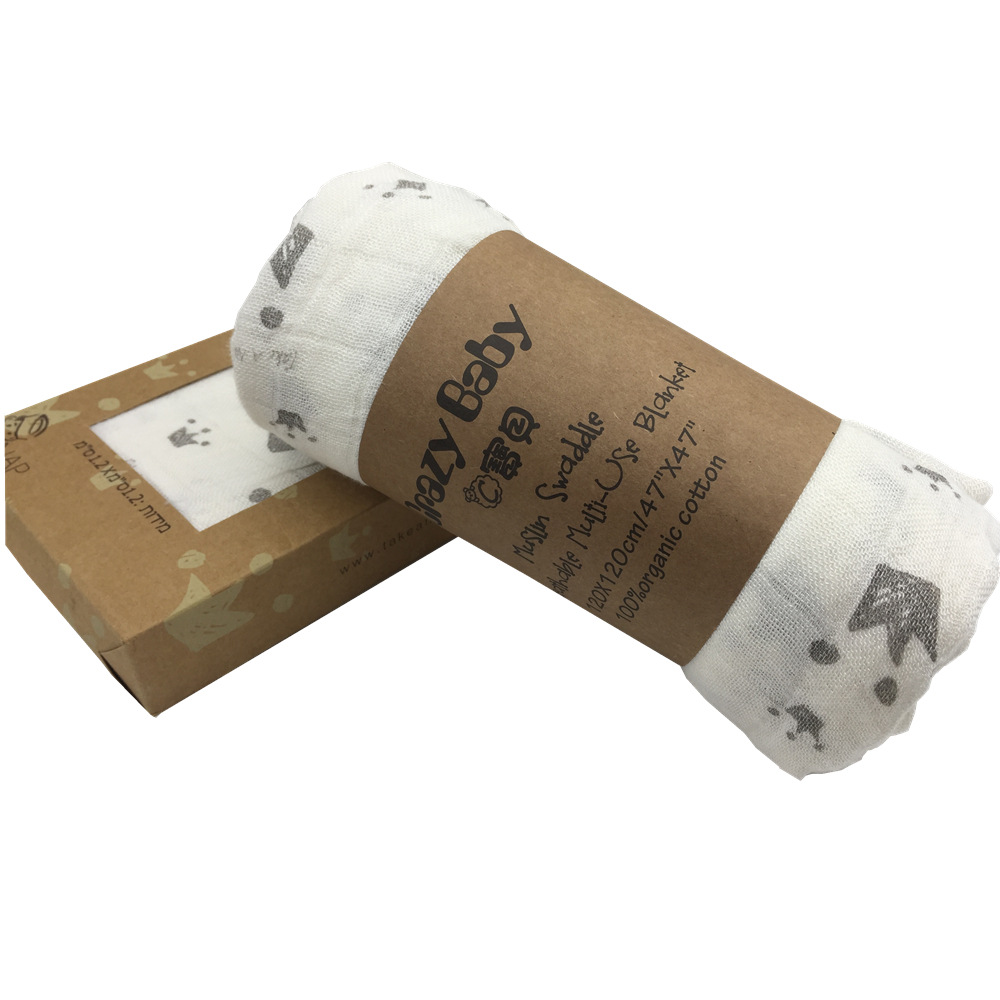 2018 Spring Newborn Baby Diaper Blanket Baby Knit Wrap Swadde ...