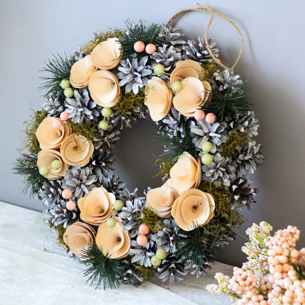 Home Decor Wall Door Wreath Window