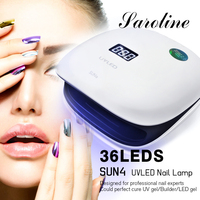Sarolineh UV LED Lamp Dryer Fingernail Toenail Gel Curing Nail Art Painting Salon Tools 48W Dryer LED UV Lamp Gel Nail Polish