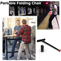 Sit Wand Portable Folding Stool Fashion Cool Play Trend Long Standing Necessary For Line Up, Fishing, Waiting, Climping