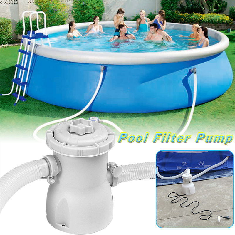 300 gal 220V Electric Swimming Pool Filter Pump For Above ...