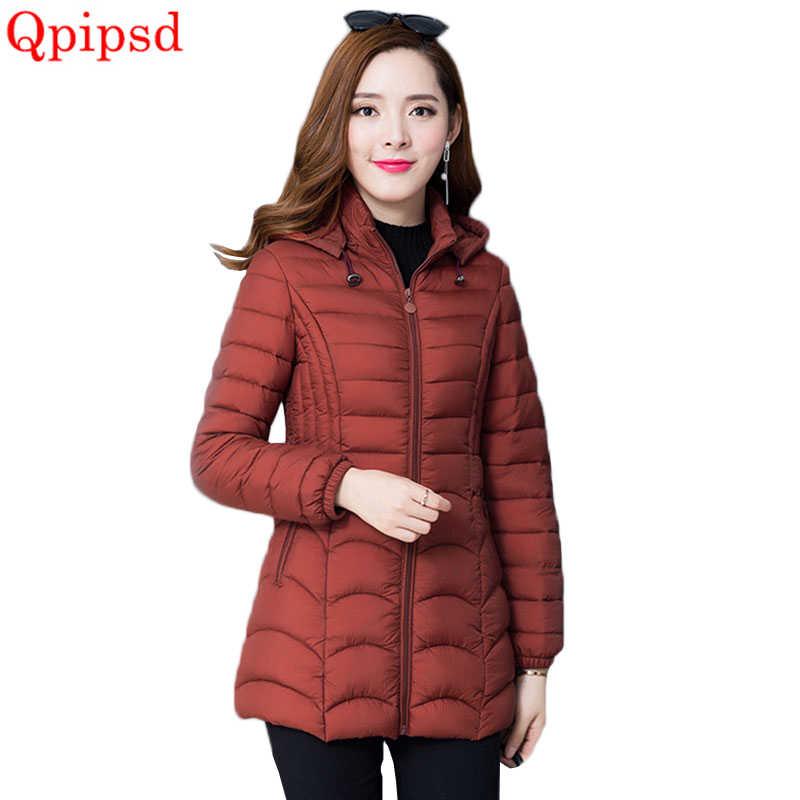 Большие размеры 6XL корейский вниз хлопковая куртка пальто Для женщин 2018  г. модные зимние теплые ab75e26e922b8