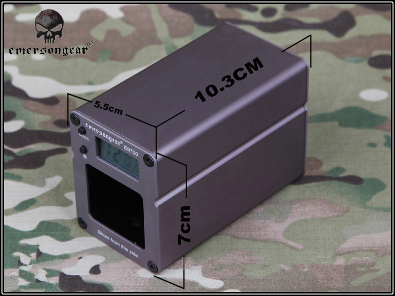EMERSON E9700 shooting chronograph Speed Tester with Pixel Tactical Airsoft high quality and accuracy цена