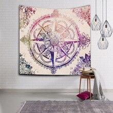 New Elephant Tapestry Printed Beach Towel Decorative Mandala Indian Boho Wall Carpet Tapete tapiz pared