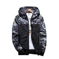 Military Oversized Hoody Sweatshirt Men Hooded Man Army Camo Camouflage Jacket Coat Hoodies Windbreaker Jumpers Outwear
