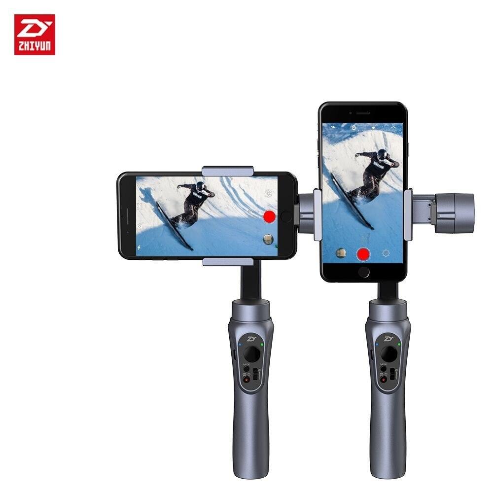 Zhiyun Lisse-Q Lisse Q De Poche Cardan Stabilisateur forSmartphone pour iPhone Télécommande Sans Fil Vertical Tir