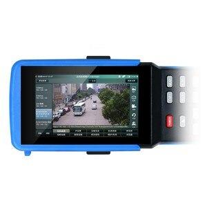 """Image 5 - 4.3 """"HD H.265 IP CCTV Tester Monitor con wire tracker tracer AHD CVI TVI CVBS Analogico wifi Della Macchina Fotografica Tester 8MP RJ45 TDR ONVIF POE"""