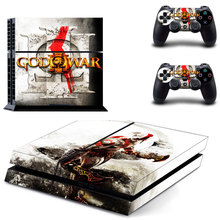Designer Skin for Playstation 4 Console Skins For PS4 Dualshock Controller Decals Stickers – God of War
