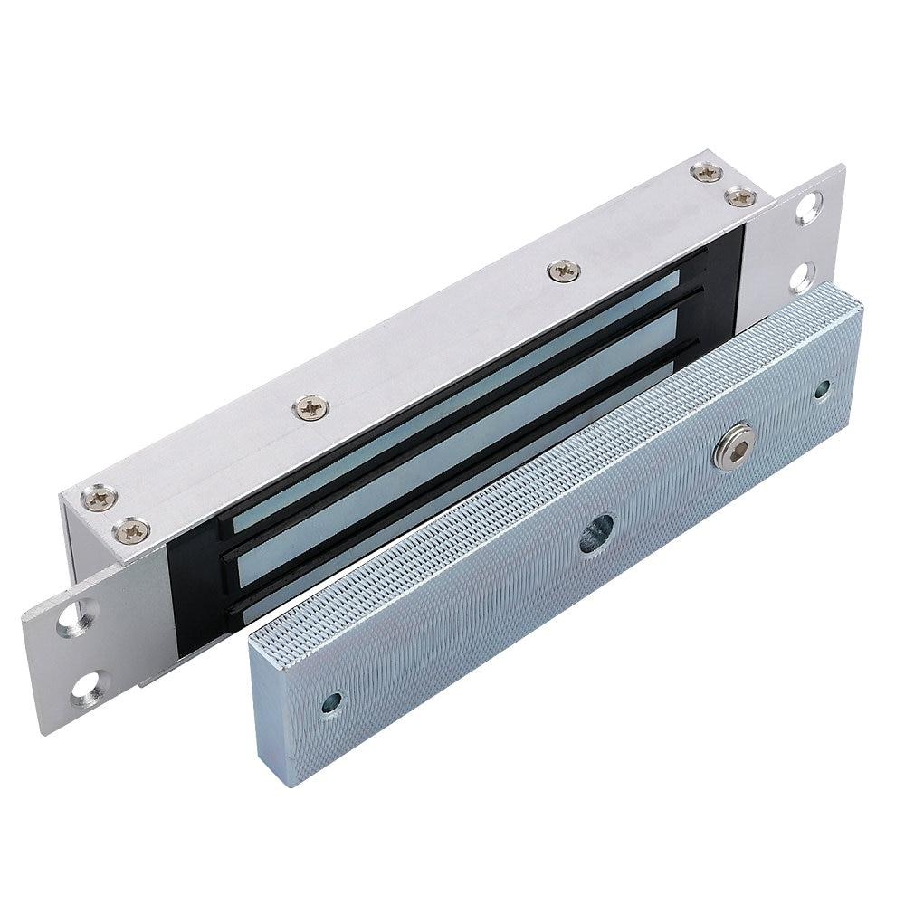 180kg Hold Force Mortise Mount Magnetic Door Lock For