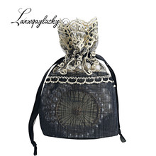 10x14cm Polyester Drawstring Gifts Bags Handmade Jewelry Pouches Home Decoration Wedding Party Supply Packaging Bag