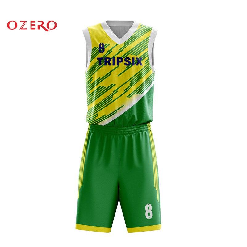 buy popular 07166 ca09f US $140.0 |latest basketball jersey design color green, basketball jersey  uniform design green-in Basketball Jerseys from Sports & Entertainment on  ...