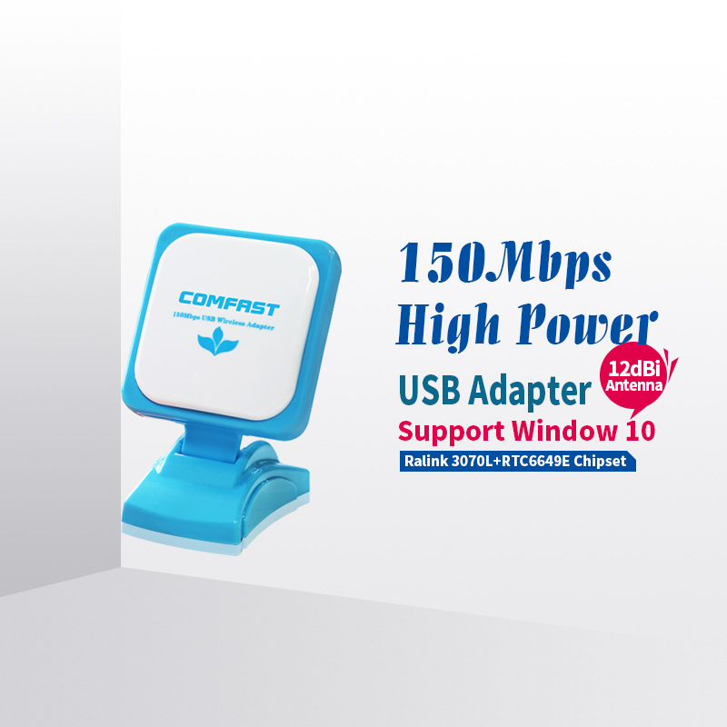 High Power USB WiFi Adapter 150 Mbps 802.11ngb WiFi könig wireless access...