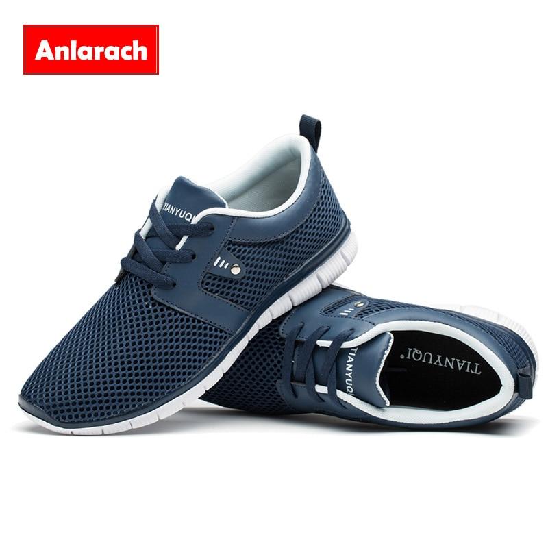Anlarach Nueva Barato Transpirable Hombres Zapatos Casuales Zapatos Cómodos Soft